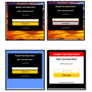 4 Squeeze Page Templates