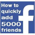 5K Facebook Friends Software